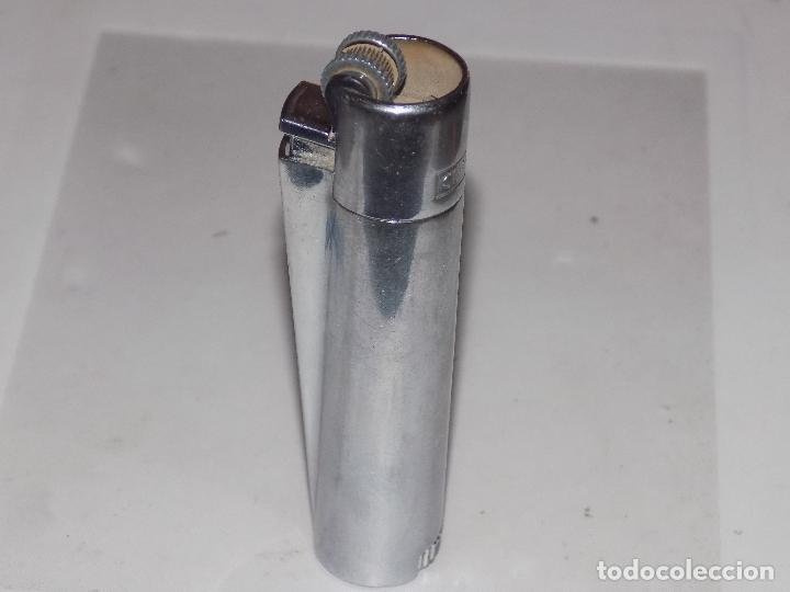 Mecheros: antiguo clipper plateado metal - Foto 3 - 83663036