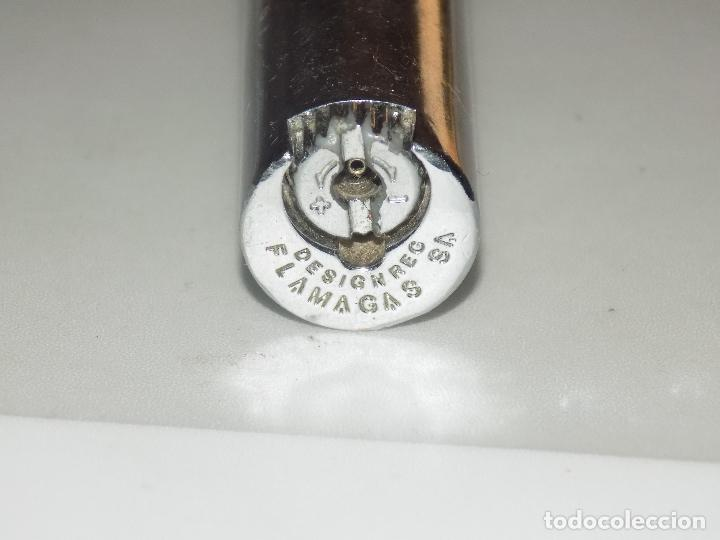 Mecheros: antiguo clipper plateado metal - Foto 5 - 83663036