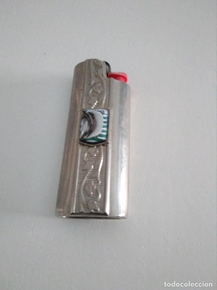FUNDA Y MECHERO (Coleccionismo - Objetos para Fumar - Mecheros)