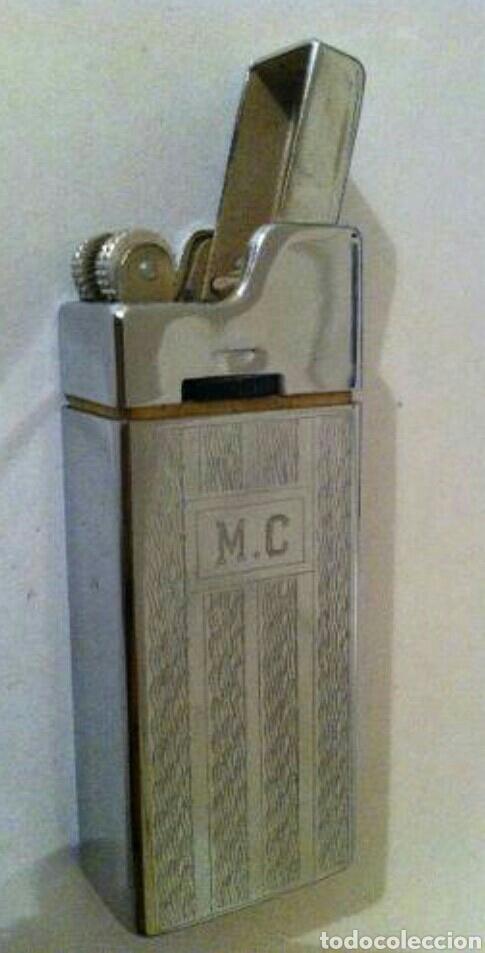 Mecheros: MECHERO CONSUL M II. MADE IN SWISS. YESQUERO DE GAS SUIZO CON SU CAJA - Foto 4 - 90419938