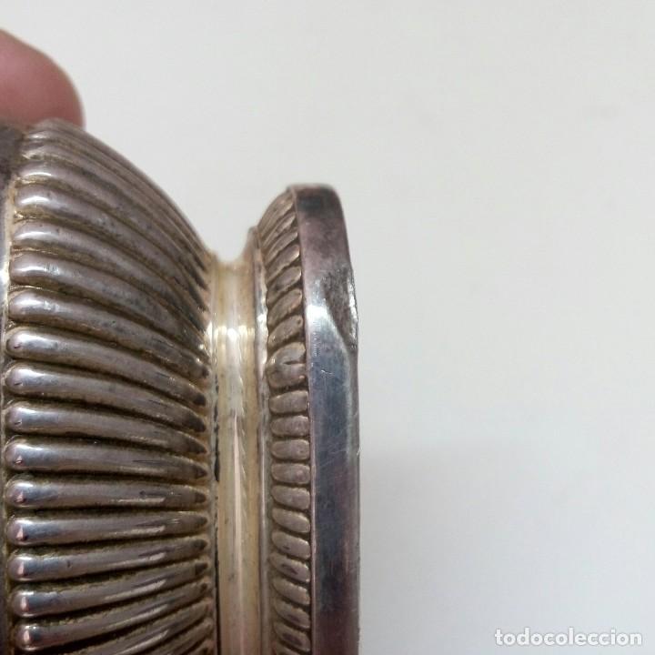 Mecheros: Mechero encendedor de mesa RONSON de plata funciona correctamente años 40-50 - Foto 4 - 93740095