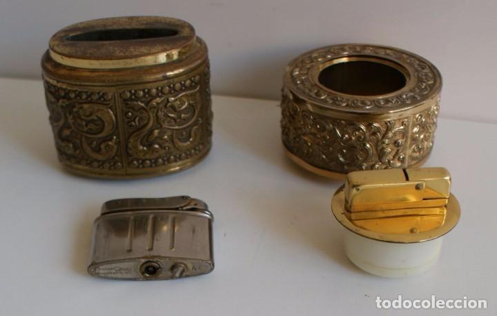 Mecheros: lote de dos mecheros antiguos - Foto 6 - 96688323