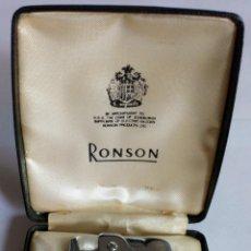 Mecheros: MECHERO RONSON. MADE IN ENGLAND. YESQUERO DE GASOLINA. Lote 97318275