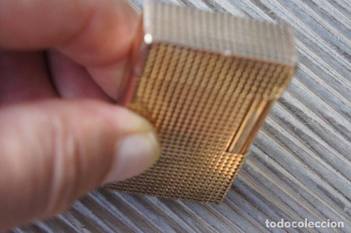 Mecheros: Dupont Oro rojo.precioso.funcionando. - Foto 4 - 97349675