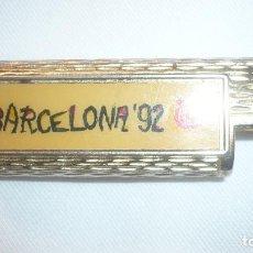 Mecheros: FUNDA MECHERO BARCELONA 92. Lote 97447695
