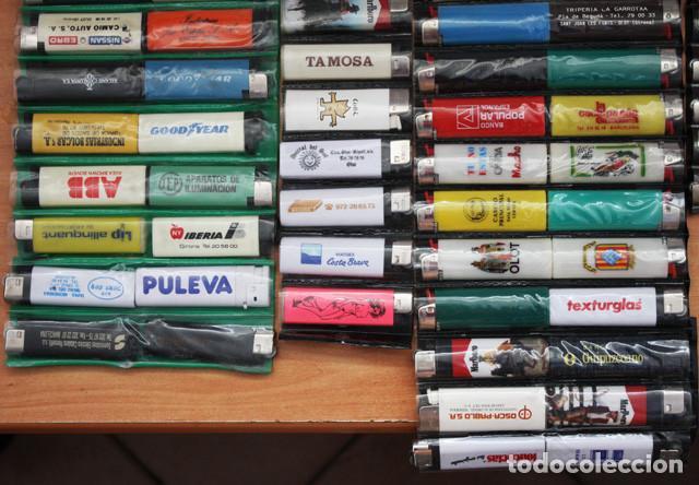 Mecheros: LOTE 226 MECHEROS CASI TODOS BIC, MINI BIC Y ZOR,TABACO,PUBLICIDAD,FUTBOL,SE INCLUYEN EXPOSITORES - Foto 6 - 97942303