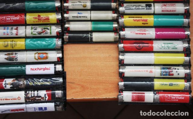 Mecheros: LOTE 226 MECHEROS CASI TODOS BIC, MINI BIC Y ZOR,TABACO,PUBLICIDAD,FUTBOL,SE INCLUYEN EXPOSITORES - Foto 7 - 97942303