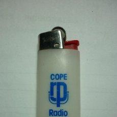 Mecheros: COPE. RADIO POPULAR. MECHERO BIC PEQUEÑO. MADE IN SPAIN. IDEAL COLECCIONISTAS. . Lote 98812675