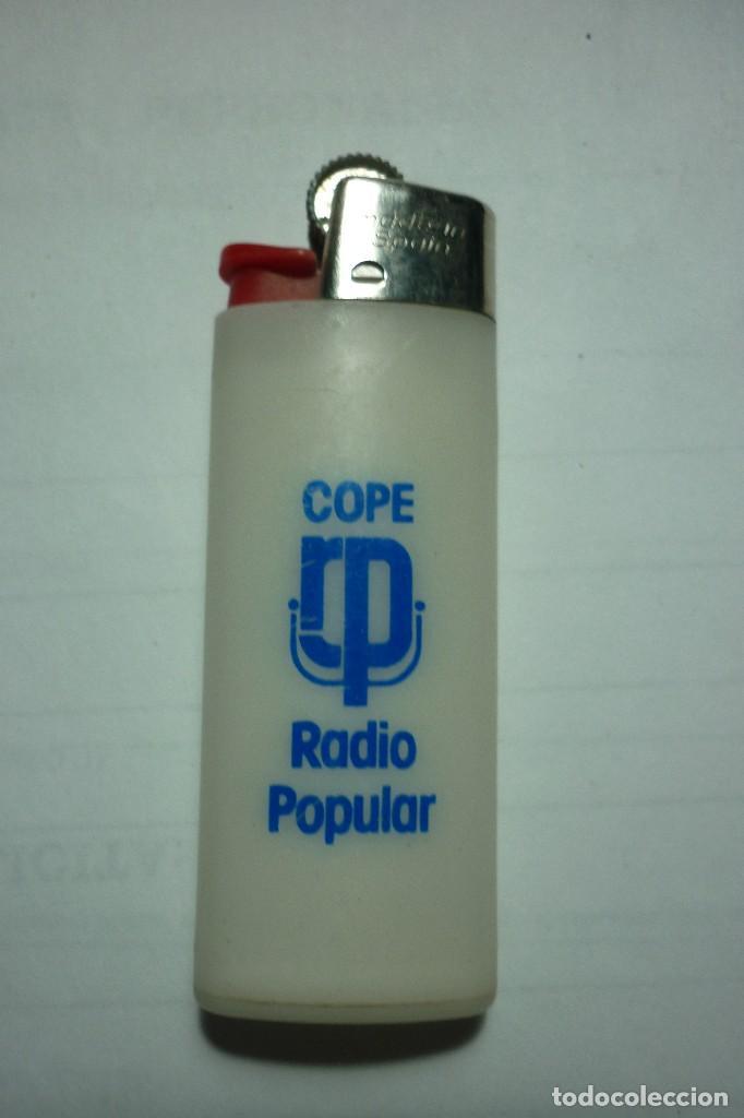 Mecheros: COPE. RADIO POPULAR. MECHERO BIC PEQUEÑO. MADE IN SPAIN. IDEAL COLECCIONISTAS. - Foto 2 - 98812675