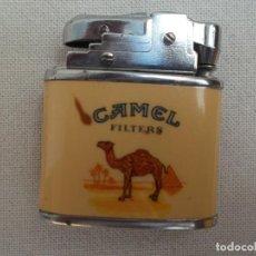 Mecheros: MECHEROS PUBLICIDAD CAMEL RECARGABLE EXCELENTE. Lote 99439927