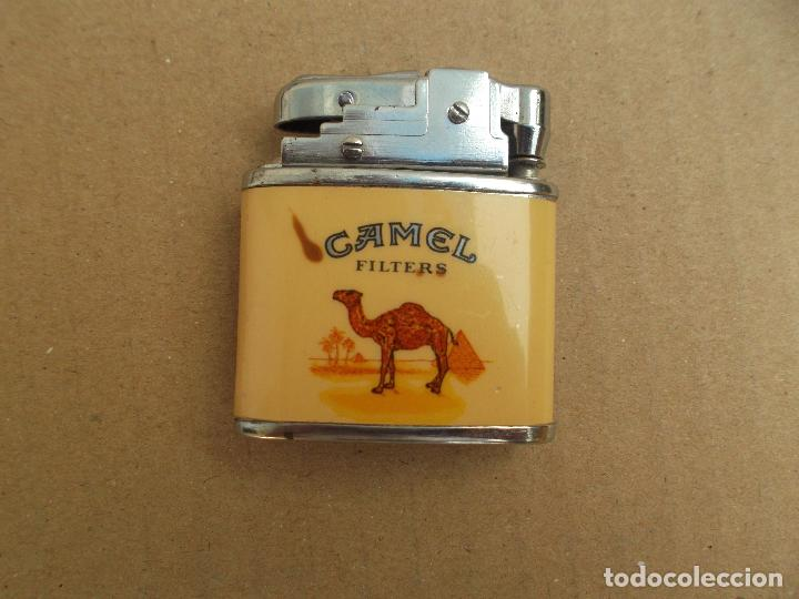 Mecheros: MECHEROS PUBLICIDAD CAMEL RECARGABLE EXCELENTE - Foto 3 - 99439927