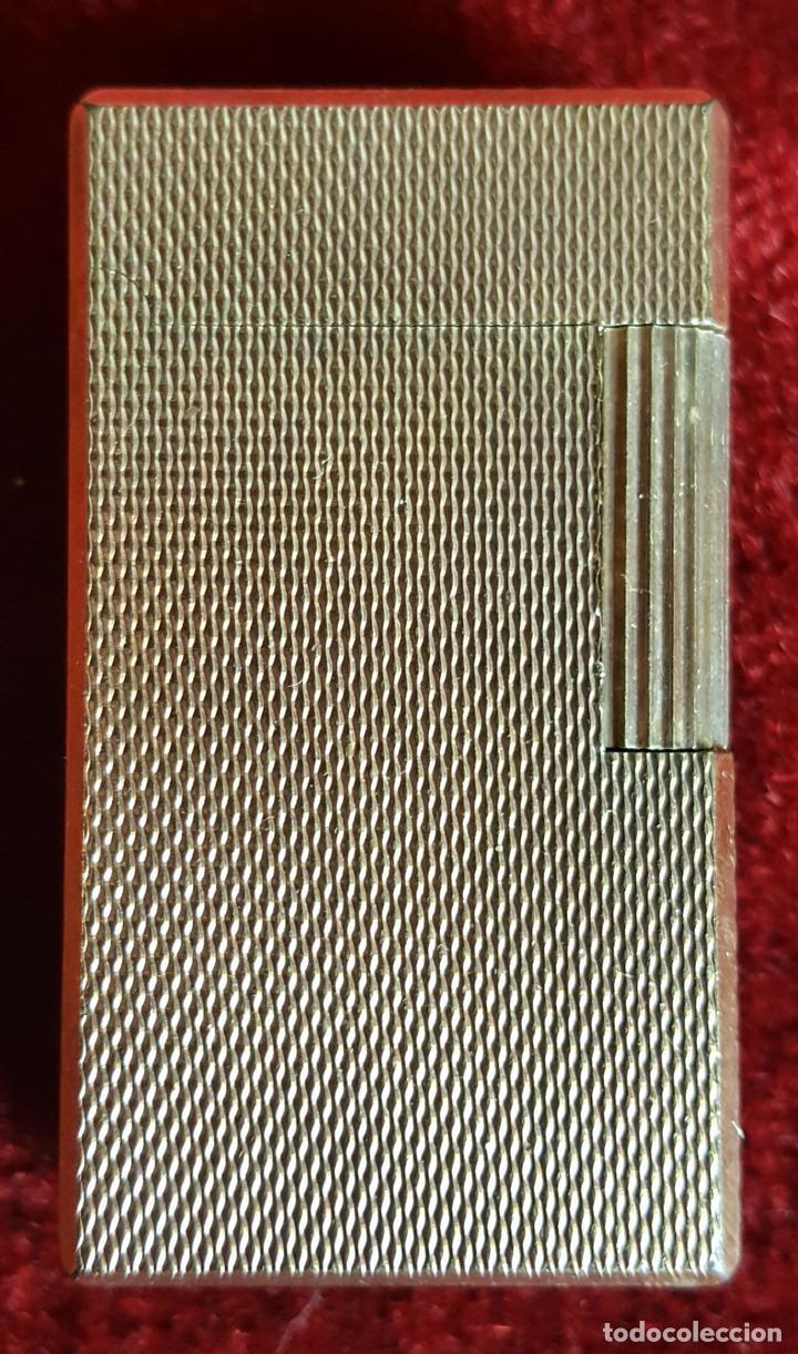 MECHERO A GAS. FLAMINAIRE. FLAMAGASSA. CHAPADO EN ORO. CIRCA 1970. (Coleccionismo - Objetos para Fumar - Mecheros)