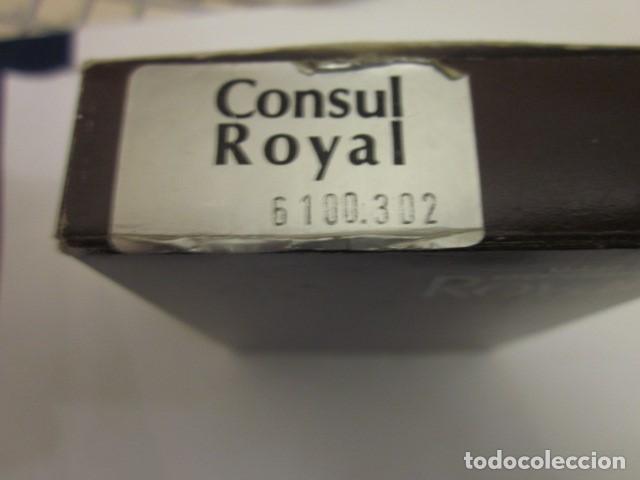 Mecheros: mechero encendedor consul royal made in gemany con su estuche y funcionando, de coleccion - Foto 3 - 100631863
