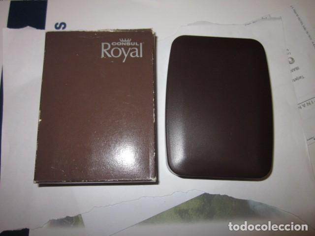 Mecheros: mechero encendedor consul royal made in gemany con su estuche y funcionando, de coleccion - Foto 4 - 100631863