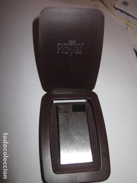 Mecheros: mechero encendedor consul royal made in gemany con su estuche y funcionando, de coleccion - Foto 7 - 100631863