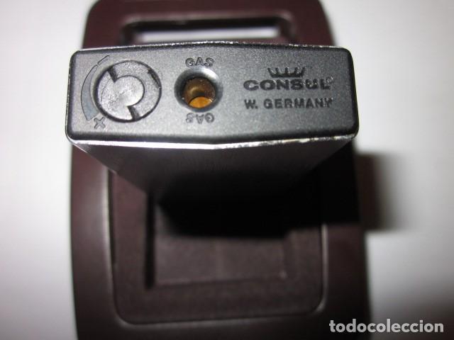 Mecheros: mechero encendedor consul royal made in gemany con su estuche y funcionando, de coleccion - Foto 8 - 100631863