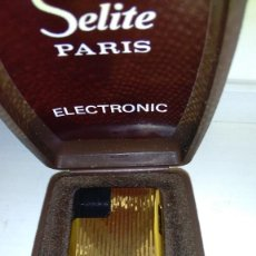 Mecheros: MECHERO ENCENDEDOR SELITE PARIS ELECTRONIC. Lote 100765055