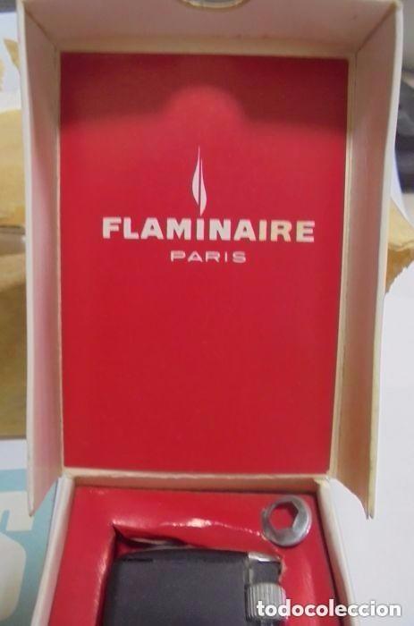 Mecheros: 10 mecheros.. Flaminaire. Con caja original. NUEVOS A ESTRENAR. Años 70 - Foto 3 - 116785730