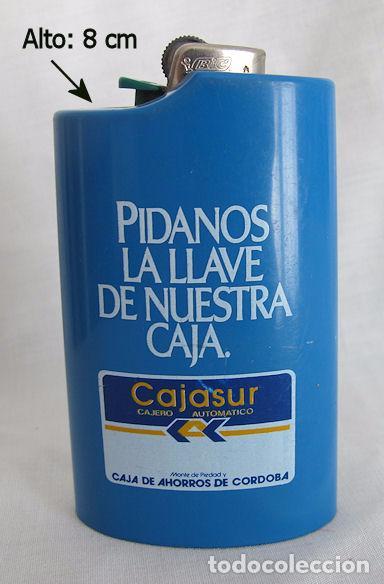 Mecheros: MECHERO BIC CON TABLE CAJASUR CAJA DE AHORROS DE JEREZ - Foto 2 - 104706131