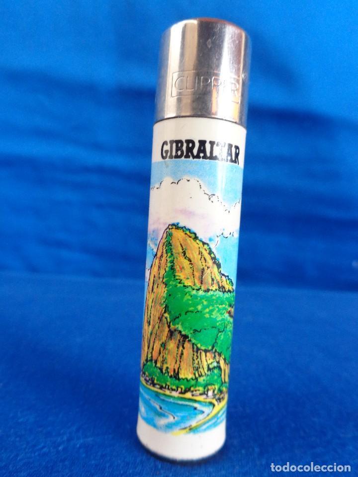 CLIPPER -MECHERO CLIPPER GIBRALTAR- MADE IN SPAIN VER FOTOS! SM (Coleccionismo - Objetos para Fumar - Mecheros)