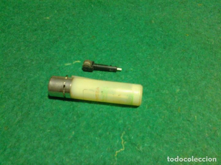 Mecheros: Encendedor mechero CLIPPER regulable rascador redondo ESTRELLA GALICIA funcionando - Foto 3 - 106329415