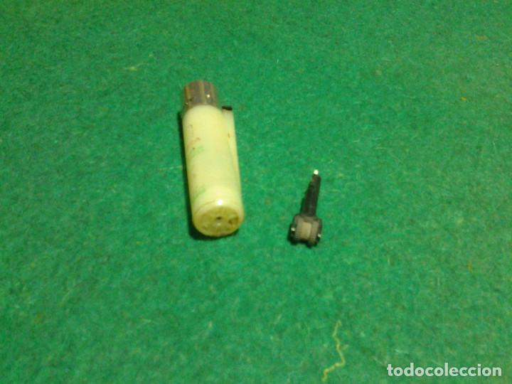 Mecheros: Encendedor mechero CLIPPER regulable rascador redondo ESTRELLA GALICIA funcionando - Foto 4 - 106329415