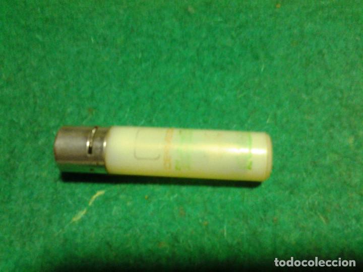 Mecheros: Encendedor mechero CLIPPER regulable rascador redondo ESTRELLA GALICIA funcionando - Foto 6 - 106329415