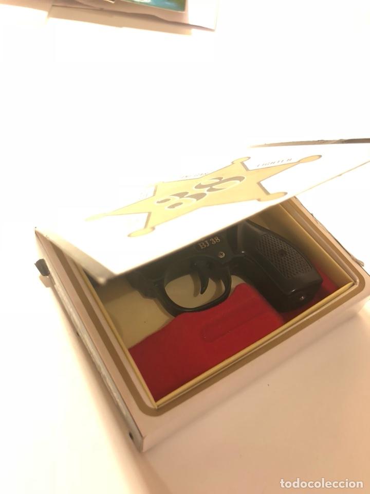 Mecheros: Encendedor mechero Aleman Hadson Pistola BJ 38 - Foto 8 - 107360695