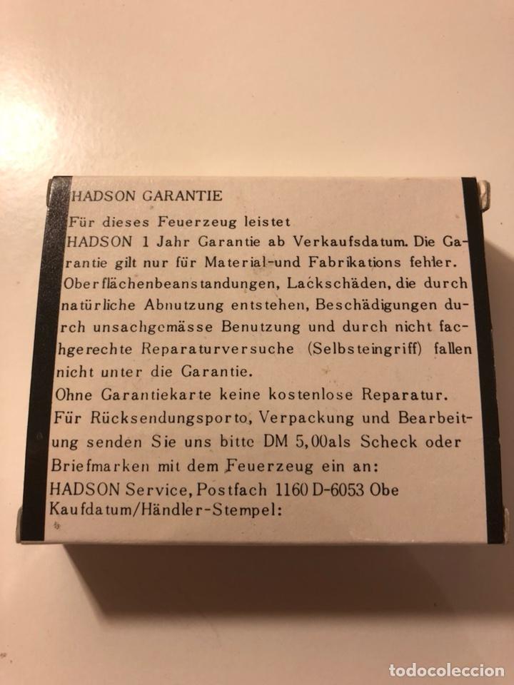 Mecheros: Encendedor mechero Aleman Hadson Pistola BJ 38 - Foto 10 - 107360695