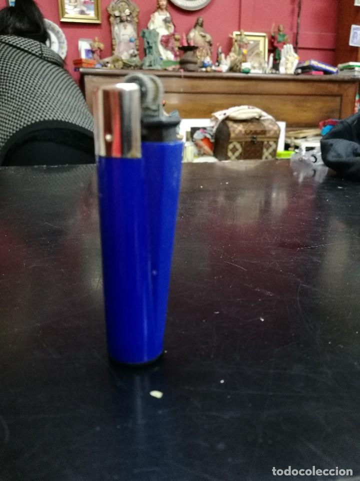 Mecheros: Clipper azul oscuro rascador redondo - Foto 2 - 107513967