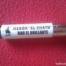 Mecheros: ESCASO RARO ENCENDEDOR MECHERO LIGTHER CLIPPER MESÓN EL CHATO BAR EL BRILLANTE VER FOTO/S Y DESCRIPC. Lote 107735079