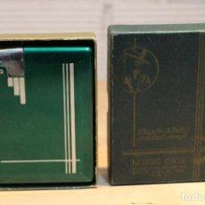 Mecheros: MACHINE AGE ART DECO MAGIC CASE AUTOMATIC CIGARETTE CASE AND LIGHTER. Lote 134215839