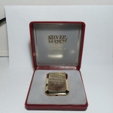 Mecheros: MECHERO SILVER MATCH. Lote 111450911