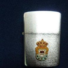 Briquets: MECHERO ZIPPO ORGINAL. CON ESCUDO DE LA UD. LAS PALMAS.. Lote 111773071