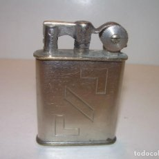 Mecheros: ANTIGUO MECHERO DE GASOLINA ART DECO...FUNCIONA PERFECTAMENTE.. Lote 113901711