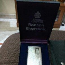 Mecheros: MECHERO ENCENDEDOR RONSON VARAFLAME ELECTRONIC. Lote 114715432