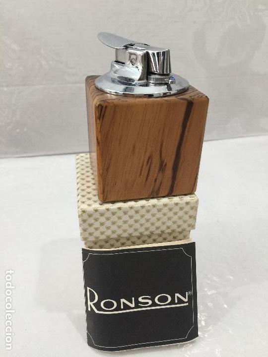MECHERO RONSON VARAFLAME MADE IN GERMANY (Coleccionismo - Objetos para Fumar - Mecheros)