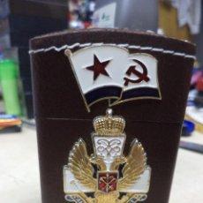 Mecheros: ENCENDEDOR DE GAS DE LA MARINA SOVIÉTICA O FLOTA ROJA.URSS - CCCP.PARA SOBREMESA.. Lote 118013371