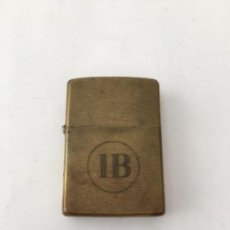 Mecheros: MECHERO ZIPPO BRONCE O LATON BRADFORD MADE IN USA. Lote 120025787