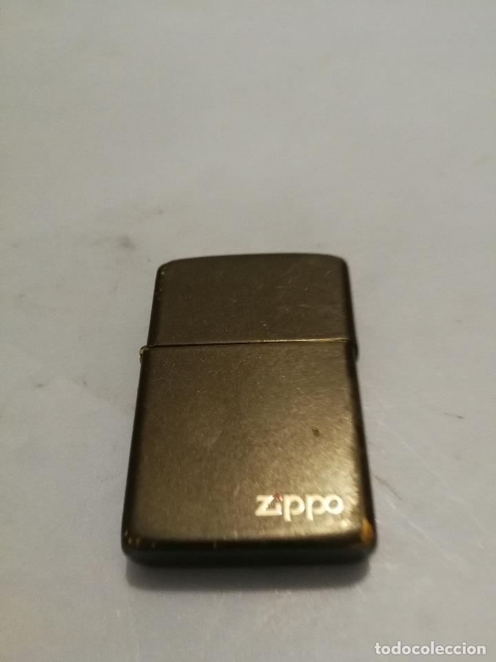 MECHERO ZIPPO BRADFORD USA NEGRO ORIGINAL (Coleccionismo - Objetos para Fumar - Mecheros)