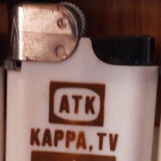 Mecheros: MECHERO, ENCENDEDOR DE PUBLICIDAD ATK, KAPPA TV. PREMIO DE ORO ARCO DE EUROPA.. Lote 125198527