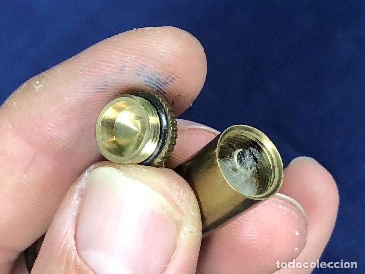 Mecheros: pequeño mechero llavero en forma de bala colgar mecha chispa s xx - Foto 3 - 127113607