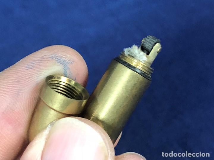 Mecheros: pequeño mechero llavero en forma de bala colgar mecha chispa s xx - Foto 5 - 127113607