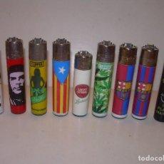 Feuerzeuge - LOTE DE NUEVE MECHEROS. - 130037215