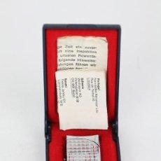 Mecheros: MECHERO ELÉCTRICO CON CAJA ORIGINAL - ROWENTA FAN - METAL PLATEADO - MADE IN GERMANY. Lote 133287878