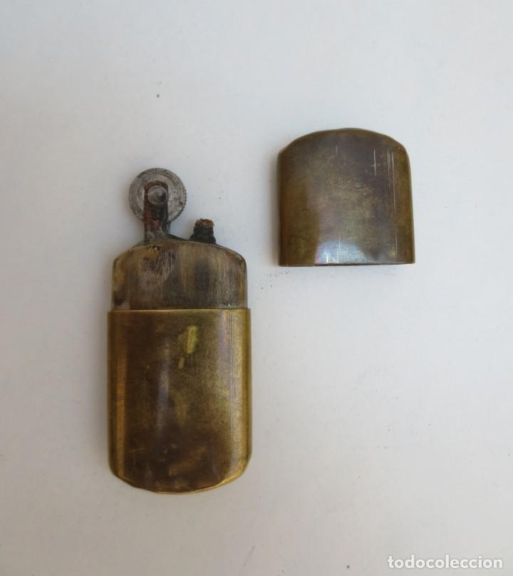 MECHERO GASOLINA TIPO BRASS (Coleccionismo - Objetos para Fumar - Mecheros)