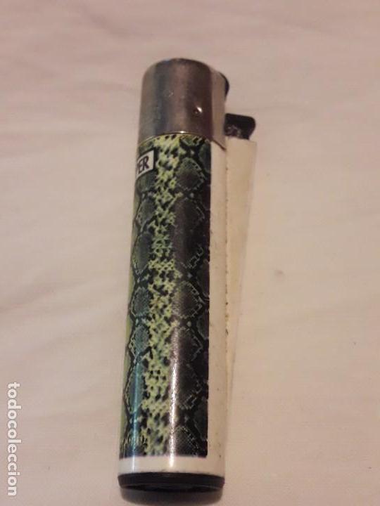 Mecheros: Mechero clipper piel serpiente - Foto 3 - 137214874