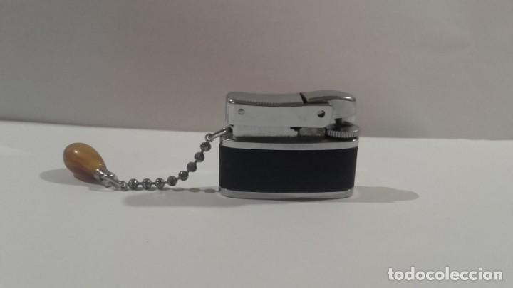 Mecheros: Mechero de gas Brother Lite Made in Japan - Antiguo y muy original con su piedra preciosa - Foto 2 - 138774298