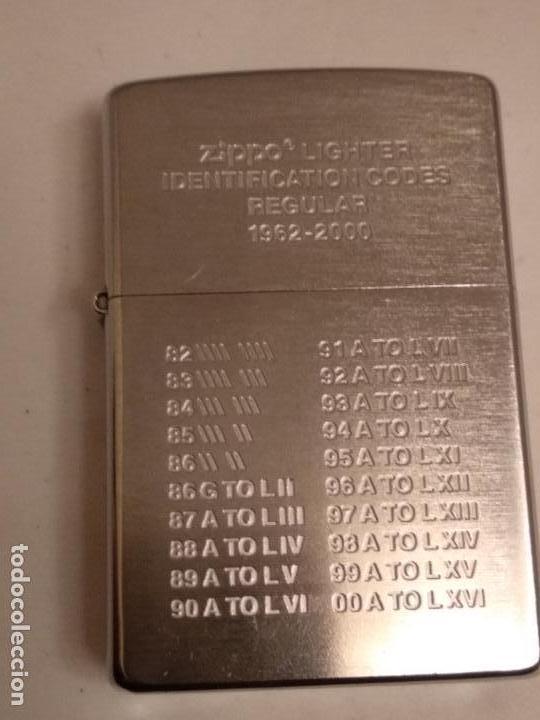 Zippo date markings