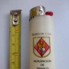 Mecheros: MECHERO BIC...AGRUPACION DE TRAFICO DE LA GUARDIA CIVIL.. AÑOS 80.CON REGULADOR.. Lote 141085478